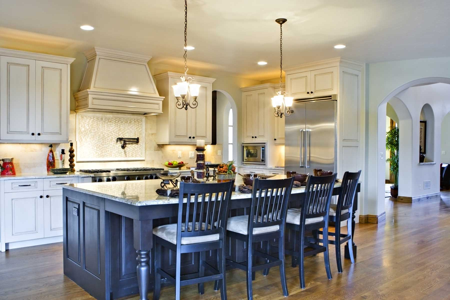 Waypoint Property Inspections blue luxury kitchen