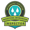 InterNACHI Moisture Intrusion Badge