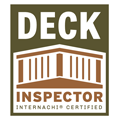 InterNACHI Deck Inspector Badge