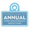 InterNACHI Annual Home Maintenance Badge