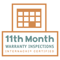 InterNACHI 11th Month Warranty Badge