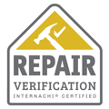 InterNACHI Repair Verification Badge