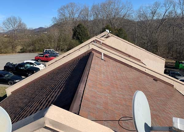 Knoxville Engineered Home Inspections Apartment Roof top