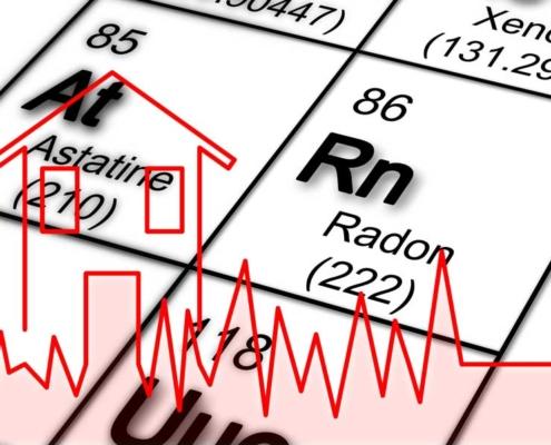 Radon Testing image of radon chemical symbol