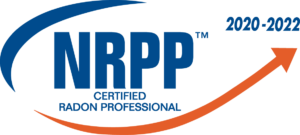 NRPP Certified Radon Professional Badge