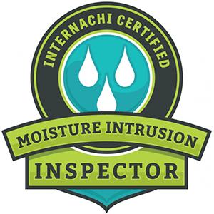 Moisture Intrusion Inspector Badge
